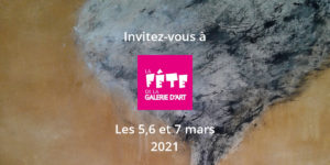 La fête de la galerie d'art 5 au 7.03.2021