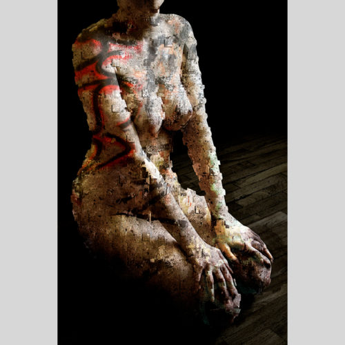 Urban Kneeling - oeuvre - (G.Dumas)