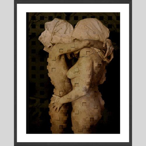 Due - oeuvre encadrée - (G.Dumas)