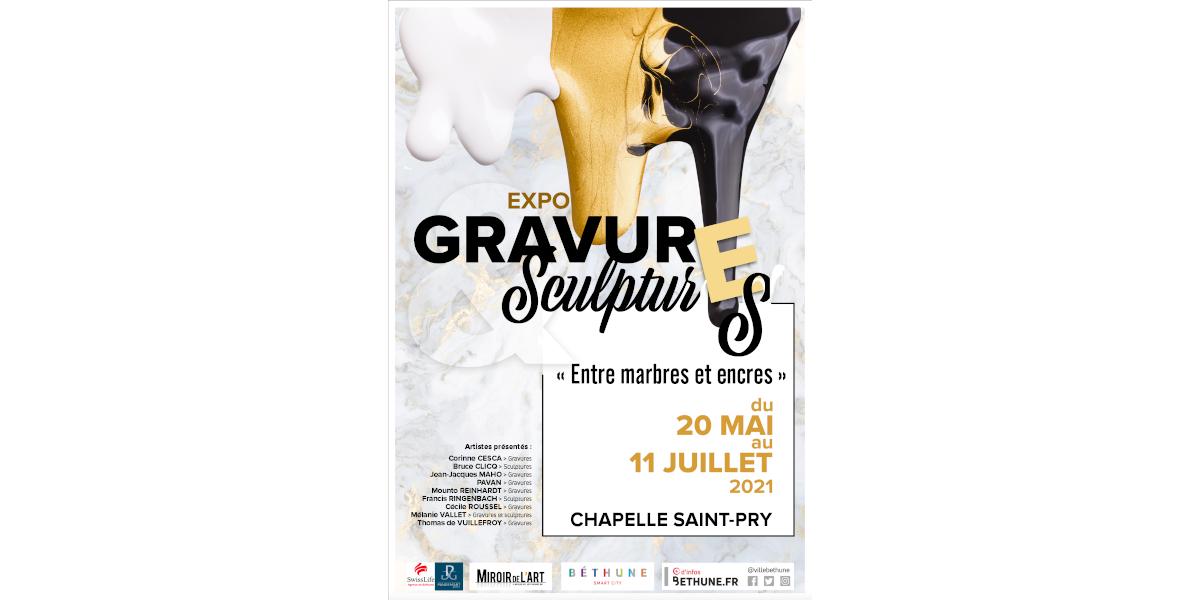 Gravures & Sculptures - Chapelle St-Pry - exposition 052021